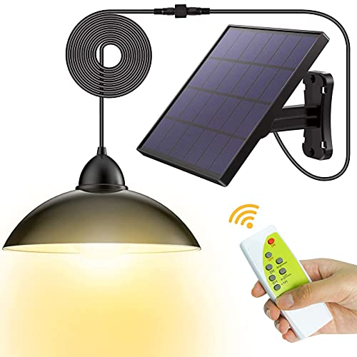 Luz solar exterior, lampara solar con...