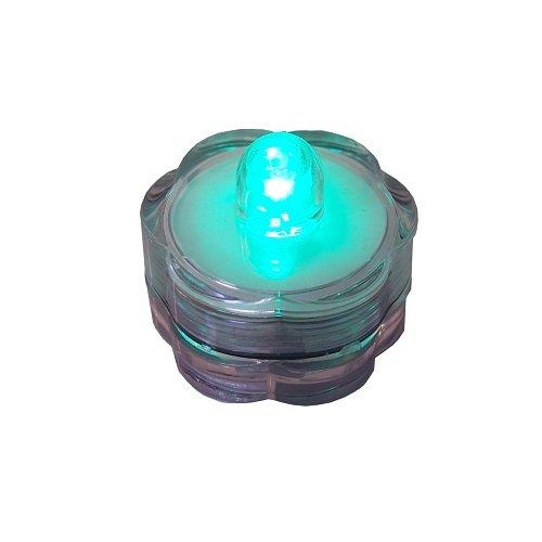 Preisvergleich Produktbild LED-Teelicht gruen Wasserdicht Dekotop 39802