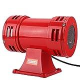 Bocina de Alarma de 150dB Tweeter, 110V / 220-240V Seguridad Industrial Sirena accionada por Motor eléctrico Alarma Continua Bocina Zumbador para alertas de Emergencia(220-240V)