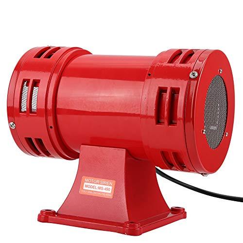 Avvisatore acustico di allarme del tweeter 150dB, cicalino del corno dell'allarme continuo della sirena azionato da motore elettrico di sicurezza 110V / 220-240V per gli allarmi di emergenza(220-240V)