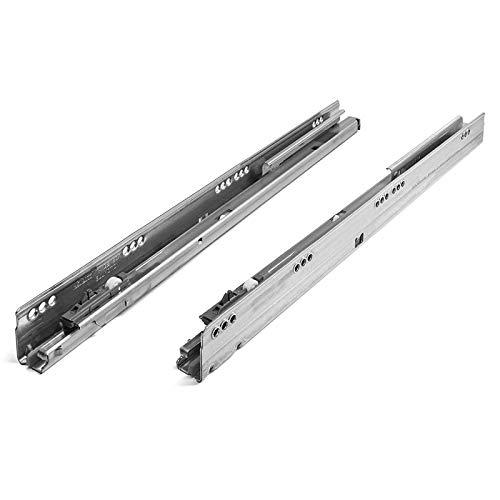 SOTECH 1 Paar Blum Tandembox Korpusschienen, 400 mm, Vollauszug links/rechts mit Blumotion bis 30 kg belastbar