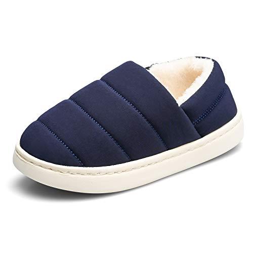 KVbabby Zapatillas de Estar por Casa Niñas Niños Caliente Lindo Suave Pantuflas Fur Calentar Invierno Invierno Zapatillas