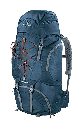Ferrino Narrows, Zaino da Hiking Unisex, Blu, 70 Litri