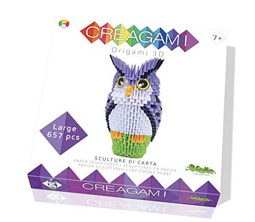 CreativaMente - Creagami búho, Multicolor, 732