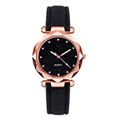 ❄️❄️【Fashion Design】The New fashion design makes girls more nifty and cute, with rhinestones and numbers to indicate time to be more concise. Beautiful Gift Watch for yourself, your lover or your friends. Wonderful design dress wrist watch for young ...