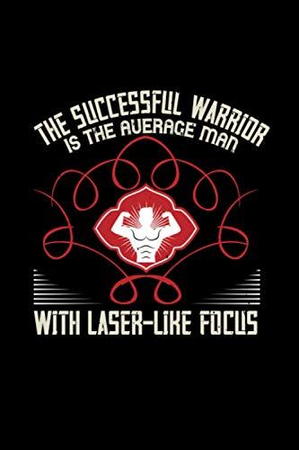 Fitness Trainer Notizbuch the successful warrior is the average man with laser like focus: Fitness Notizbuch und Notizheft Din A5 mit 120 linierten Seiten