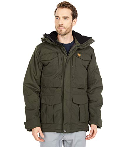 Fjallraven Herren Yupik Parka M Sport Jacket, Deep Forest, M