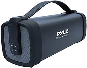 Pyle Wireless Portable Bluetooth Speaker – 100 Watt Power Rugged Compact Audio..