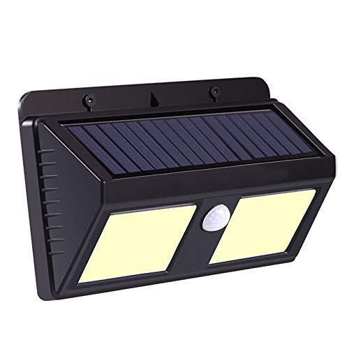 Lighfd Solar Wandlampen buiten Upgraded Bracket Light Solar Motion Sensor Beveiliging Lights 2400 mAh zonne-energie aangedreven Wandlamp waterdichte draadloze Muur Lights Solar Lampen