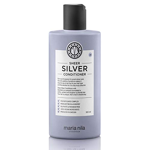 Maria Nila Sheer Silver Conditioner,1er Pack (1 x 300 ml)