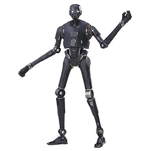 Hasbro Star Wars B9396EL20 Rogue One The Black Series 6 Zoll Figur: K-2SO, Actionfigur