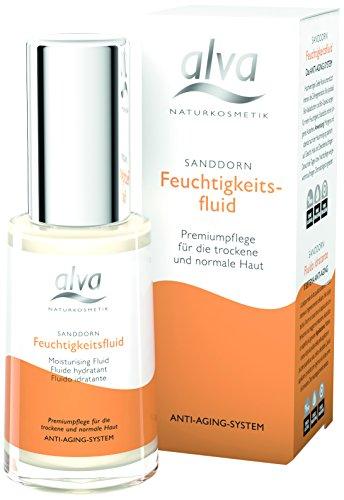 alva naturkosmetik Sanddorn Feuchtigkeitsfluid, 1er Pack (1 x 30 ml)