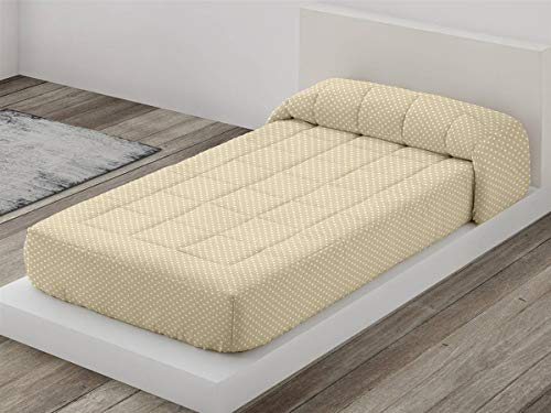 Camatex - Edredón Ajustable Topo Cama 150 - Color Beig