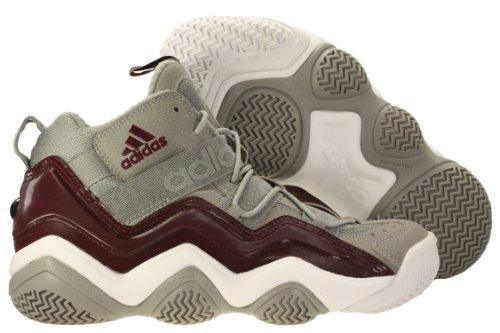 Adidas Mens Top Ten 2000 shigrelgtmarwht Basketball Shoes