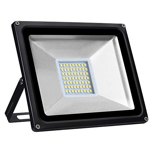 LED Strahler 10W 20W 30W 50W 100W 150W 200W 300W 500W 800W 1000W Warmweiß LED Wandstrahler Lampe Außenstrahler Aluminium Flutlicht Fluter 220V IP65 (1 Stück, 30W)