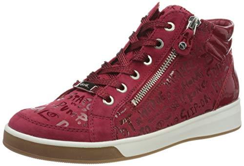 ara Damen ROM Hohe Sneaker, Rot, Rosso 06), 42.5 EU(7.5 UK)