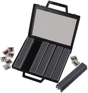 Hama Valise pour diapos/négatifs (avec paniers, pour 300 diapositives ou négatifs) Noir/Gris