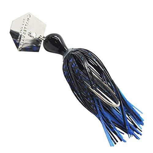 Z-Man Chatterbait, Blue Black, 3/8-Ounce