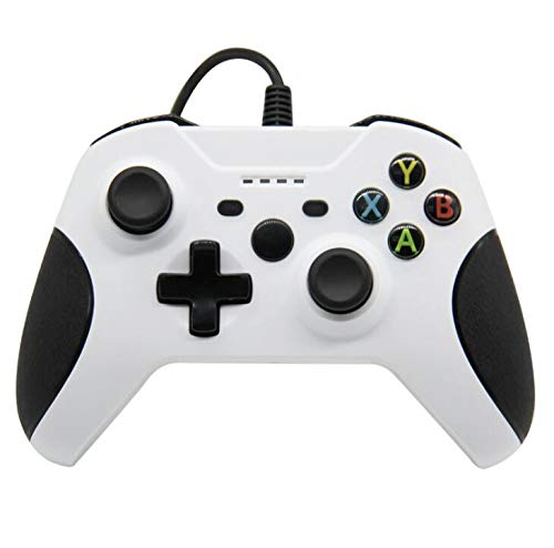 Xbox One Game Controller, Controller Xbox One USB Wired cablato Controller di Gioco USB per PC Joystick per Gamepad, Compatibile con Xbox One/One Slim/PC/Windows 7/8/10