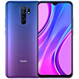 Xiaomi Redmi 9 64GB, 4GB RAM, 6.53' Full HD + AI Quad Camera, LTE Factory Unlocked Smartphone - International Version (Sunset Purple)