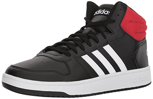 red adidas high tops - 9