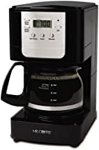 Mr. Coffee Advanced Brew 5 Cup Programmable Coffee Maker Black/Chrome