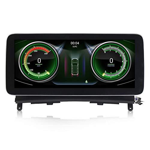 Autoradio Sat Android 10.0 Radio 2 Din Head Unit per Mercedes Benz Classe C W204 2007-2010 Navigazione GPS Ricevitore video lettore multimediale MP5 da 10,25 pollici con 4G WIFI DSP Carplay