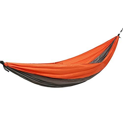 LRHYG Hamac De Camping Extérieur Hamac Tissu De Parachute Durable Et Solide Peut Supporter 200kg Balançoire Alpinisme Décontractée Camping 260x140cm