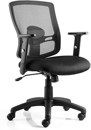 Task Operator Mesh Chair mit Armen - Schwarz