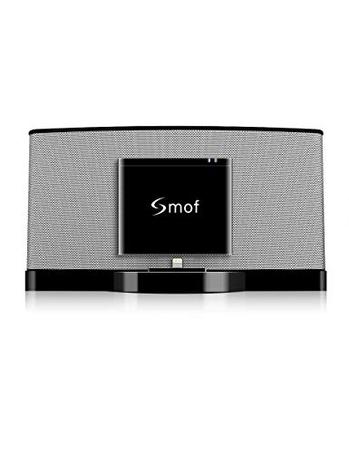 Smof 8 Pin Bluetooth Adapter for Sounddock, Bluetooth Receiver Replacement for Bose Sounddock III Bose SoundDock XT/JBL MS302GM Philips DS1155B/93,8 Pin Music Docking Station