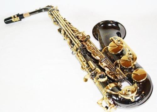 Cherrystone 4260180881592 Alt Saxophon Eb mit ABS Koffer/Zubehör BN schwarz