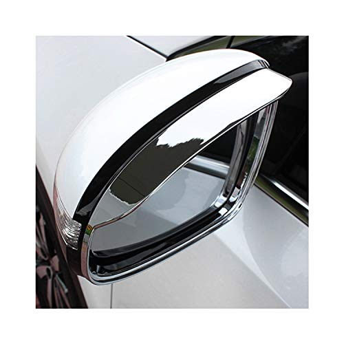LFOTPP - Espejo retrovisor para coche, para la lluvia, cejas