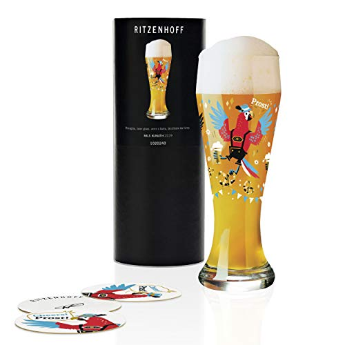 RITZENHOFF 1020240 - Bicchiere da birra di frumento, in vetro, 645 ml