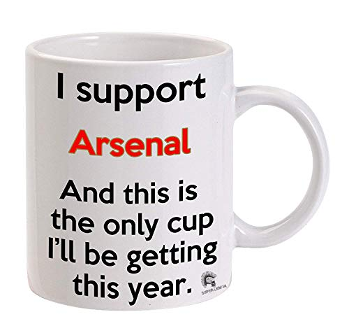 Arsenal Premier League Funny Meme Football Tea Cup Coffee Mug ...