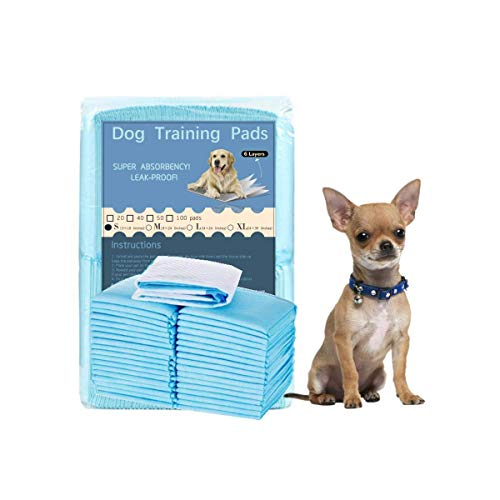 KIHKIH Dog Training Pad Puppy Pads New Burn Puppy 13x18 Training Pad for Pet Pet Training Pads Regular 20 Counts-Extra Thickened (Regular (13 x18), 20 Count)