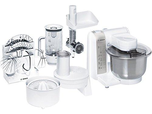 Bosch MUM4856EU Robot cuiseur multifonction, 600 W, blanc
