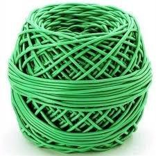 Tubo para atar PVC verde primera elección 1 kg aprox.