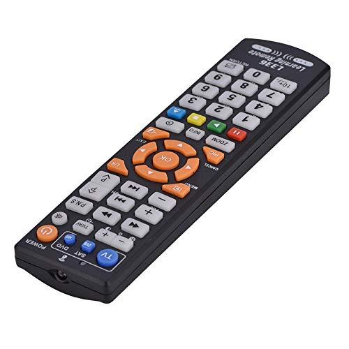 Socobeta Con función de aprendizaje Smart TV Control remoto Universalq Smart reemplazar TV para TV CBL DVD SAT