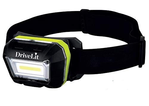 LMP4300 Linterna Profesional COB Frontal 300 Lúmenes Recargable USB