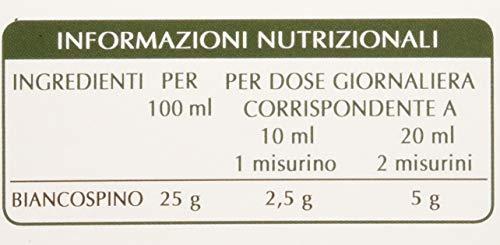 Dr. Giorgini Integratore Alimentare, Biancospino Estratto Integrale Liquido Analcoolico - 200 ml