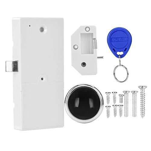FOLOSAFENAR Fácil operación Interfaz fácil de Usar Cerradura RFID Diseño Integrado para gabinete para Gimnasio