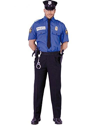 Disfraz de polica americano - Estndar