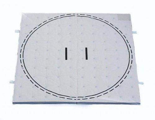 すもうマット (一体成形土俵マット)ゴム止め式 9号  大 300×300×5 *日本製♪ 一番人気な大きさです