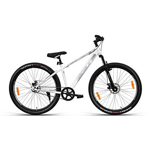 VECTOR 91 Defeatr 29T Single Speed Hybrid Bike ( White , Ideal For: 12+ Years , Brake: Disc )