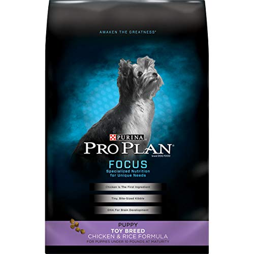 Purina Pro Plan Toy Breed Dry Puppy Food,...