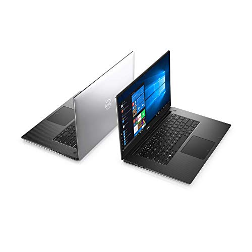 """Refurbished Dell - XPS 15.6"""" 4K Ultra HD Touch-Screen Laptop Silver"""