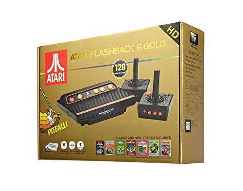 - Atari Flashback 8 HD Retro-Konsole mit 120 Spielen und 2 kabellosen Controllern