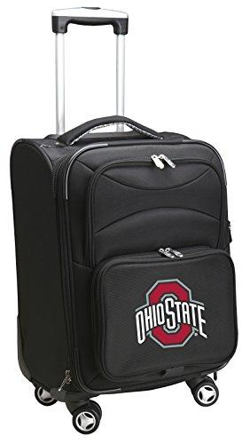 Denco NCAA Ohio State Buckeyes Carry-On Luggage Spinner