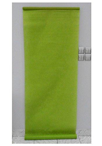 Tenture de salle mariage 70 cm x 10 m (vert anis)