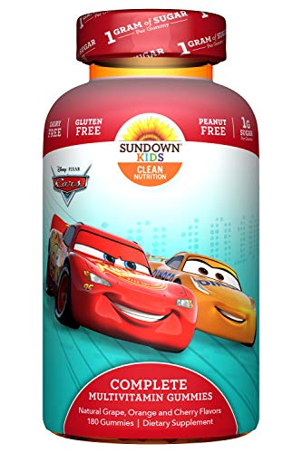 Disney Cars Kids Multivitamin Gummies by Sundown Kids,...